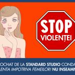Violenta impotriva femeilor nu are justificare!