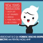 Cum am ales sa fac videochat si ce obiective am pentru noul an?