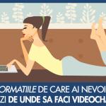 Videochat – de acasa sau la studio?