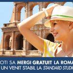 Cum sa mergi GRATIS in vacanta la Roma cu Standard Studio