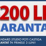 La Standard Studio castigi garantat minim 4200 LEI pe luna